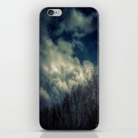murakami iPhone & iPod Skins featuring Evening Sky by Geni