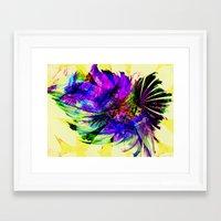 fancy Framed Art Prints featuring Fancy by Art-Motiva