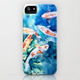 Koi Koi Koi Fish iPhone Case