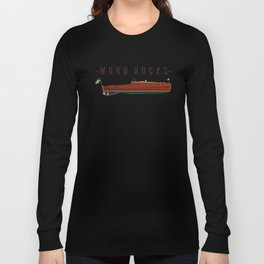 wooden boat tee Long Sleeve T-shirt