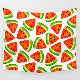 Watermelon seamless pattern Wall Tapestry