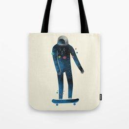 Skate/Space Tote Bag