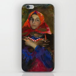 MAKOVSKY, VLADIMIR (1846-1920) The Collapse of a Bank iPhone Skin
