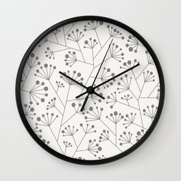 Umbels Wall Clock