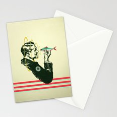 Hypnotic sardine  Stationery Cards