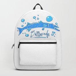 Big Blue Barracuda Backpack