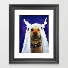 Ralloween Rog Framed Art Print