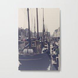 Safe Harbors Metal Print