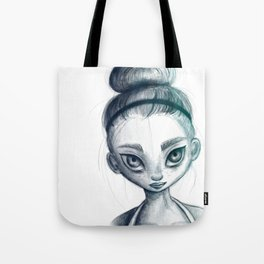 Sporty girl Tote Bag