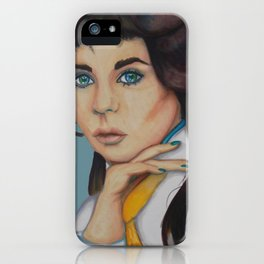 Ask Not the Sparrow iPhone Case