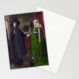 The Arnolfini Portrait, Jan van Eyck, 1434 Stationery Cards