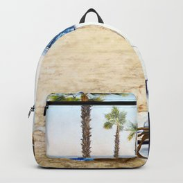 HOLIDAY AT THE BEACH Backpack