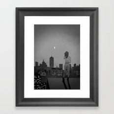 Noir City Framed Art Print