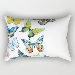 Butterflies 03 Rectangular Pillow