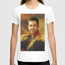 Aaron Rodgers Classical Regal General Painting T-shirt