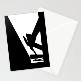 The Visitor Silhouette Stationery Cards
