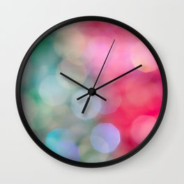 Color Study 1 Wall Clock