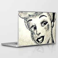 cinderella Laptop & iPad Skins featuring Cinderella  by Makayla Wilkerson