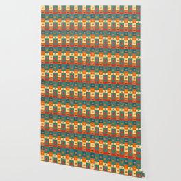 Dinner pattern Wallpaper