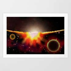 ANOTHER HORIZON - 047 Art Print