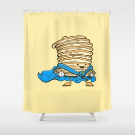Captain Pancake Shower Curtain