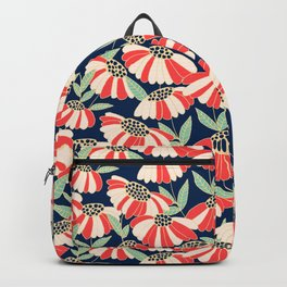 Botany pattern Backpack