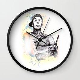 Travis Barker Wall Clock