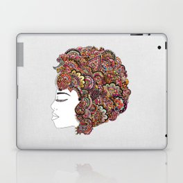Her Hair - Les Fleur Edition Laptop & iPad Skin
