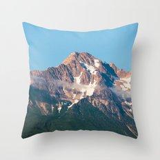 Cascade Mountain Clouds Throw Pillow