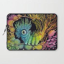 Unplug, Caterpillar, Psychedelic Art Laptop Sleeve