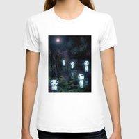 kodama T-shirts featuring Princess Mononoke - The Kodama by pkarnold + The Cult Print Shop