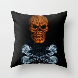 Skull And Crossbones 1 Throw Pillow