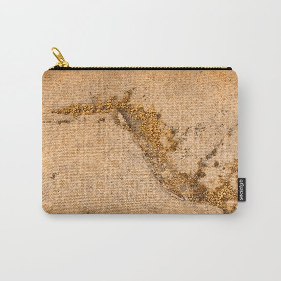 Vintage Moss Flourishes Carry-All Pouch