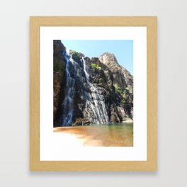 Waterfalls of Kakadu  Framed Art Print