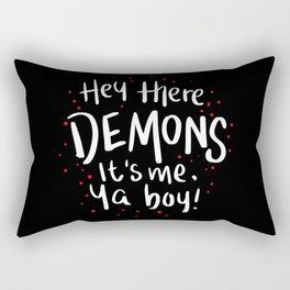 Hey There Demons Rectangular Pillow