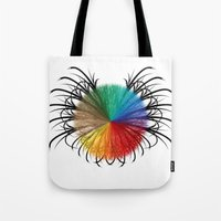 insect Tote Bags featuring İnsect by kartalpaf