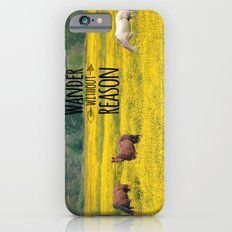 Wander Without Reason Slim Case iPhone 6s