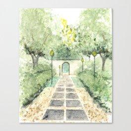Garden Arch Canvas Print