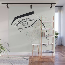 Colorful freckles Wall Mural