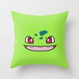 Shiny Buba Throw Pillow
