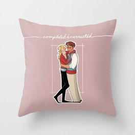 Completed and Corrected Throw Pillow