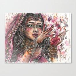 Goddess Lakshmi Canvas Print