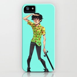 Not One Word iPhone Case