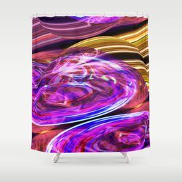 Eddies In The Etheric Variations On A Theme Shower Curtain