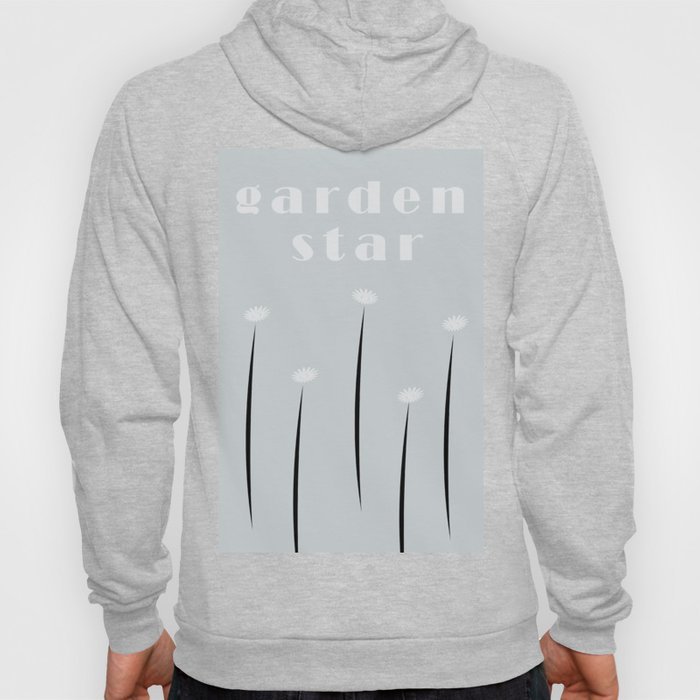 Abstract Tiny Flowers Daisies Hoody