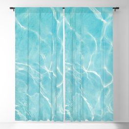Pool Dream #5 #water #decor #art #society6 Blackout Curtain