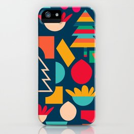 Funny Christmas games iPhone Case