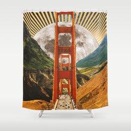Bridge to Fantasy Land Shower Curtain