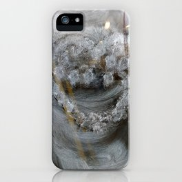The painted heart iPhone Case