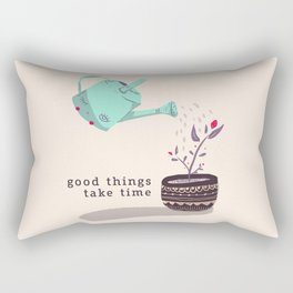 good things Rectangular Pillow
